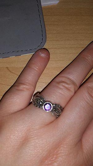 Silver Amethyst Ring for Sale in Powder Springs, GA