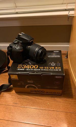 Nikon DSLR Camera kit for Sale in Gainesville, VA