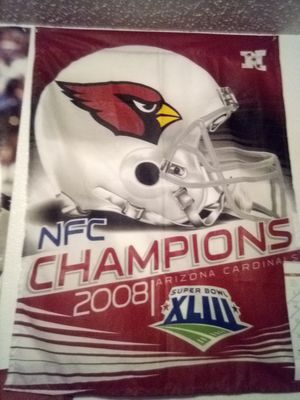 NFC 2008 champions Cardinals Banner for Sale in Tempe, AZ