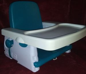 Baby's First Year's portable highchair/booster seat, Chicco Pocket Snack portable booster seat for Sale in Mexico, MO