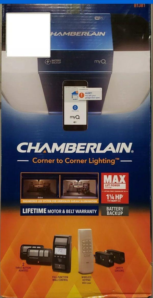 Chamberlin B1381 garage door opener
