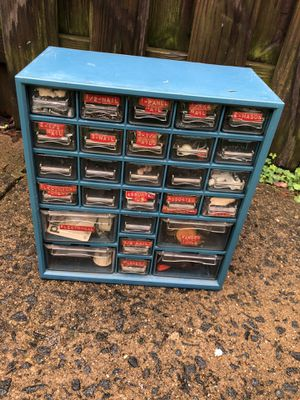 Cubby Hole Plastic Chest for Sale in Sterling, VA