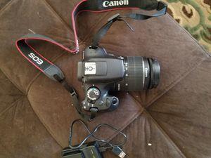 Webuy Canon rebel t6 dslr camera for Sale in North Las Vegas, NV