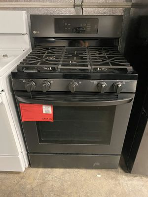 Brand New! LG Matte Black Gas Range Stove Oven 1 Year Manufacturer Warranty Included for Sale in Chandler, AZ