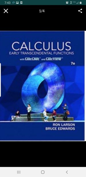 [Pdf/eBook] Calculus Early Transcendental Functions - $10 for Sale in Los Angeles, CA