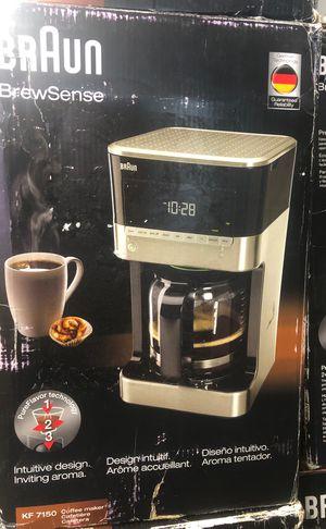 New Coffee Maker Braun Brewsense KF 7150 for Sale in Riverview, FL