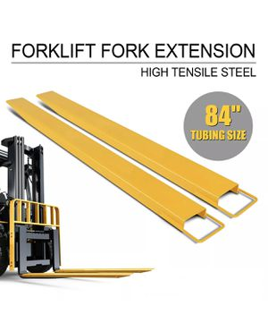 Brand New Heavy Duty Fork Extensions for forklifts 5,6,7 ft available for Sale in Hialeah, FL