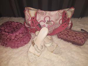 Coach Shoes, hat, wallet & crossover bag MAKE OFFER for Sale in Trezevant, TN