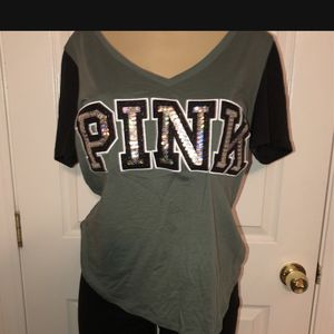 Pink Bling Top Size Lzrge for Sale in Visalia, CA