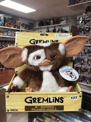 """Gizmo Plush Doll Gremlins 8"""" Inch NECA Reel Toys for Sale in La Habra, CA"""
