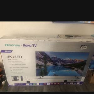 65 Inch Hisense R8 Roku Tv for Sale in Spring Valley, CA
