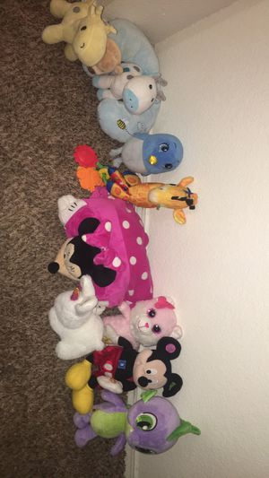 Kids and baby plushies for Sale in Hillsboro, OR