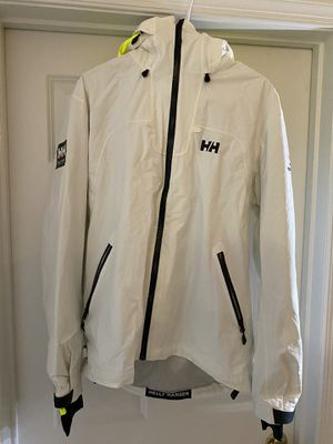 Helly Hansen Jacket White size XL for Sale in Manassas, VA
