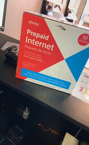Prepaid internet !!!! With xfinity for Sale in Jacksonville, FL