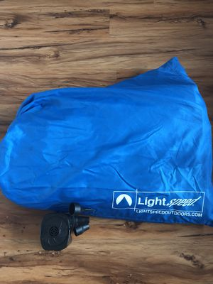 Light Speed Outdoors Air Mattress - Twin. for Sale in Portland, OR