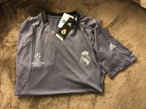 Real Madrid champion legue jersey training for Sale in Silver Spring, MD
