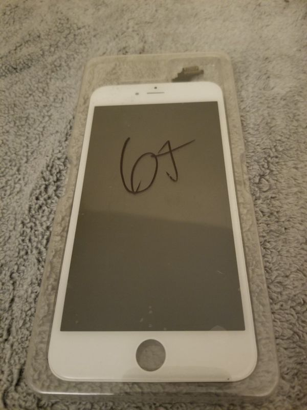 iPhone 6 plus screen replacement lcd in white