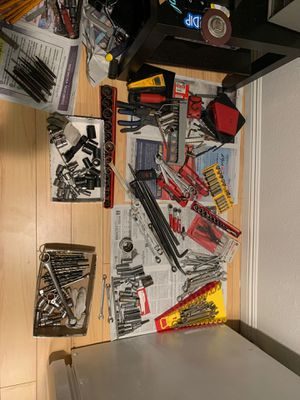 Mixed snap on and Mac tools for Sale in Los Angeles, CA