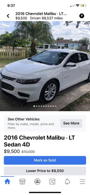 2016 Chevy Malibu for Sale in Immokalee, FL