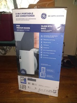GE appliances 3-in-1 portable air conditioner for Sale in Superior Charter Township, MI