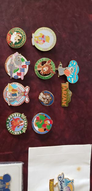 Disney pins and buttons for Sale in Riverside, CA