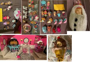 Big lot of toys: LoL Surprise, Poopsie, Shopkins, Hatchimals etc for Sale in Fort Lauderdale, FL