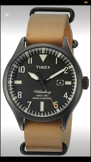 Timex Men's (Waterbury Series) Analog Quartz Watch (Brown) - $45 OBO for Sale in Binghamton, NY