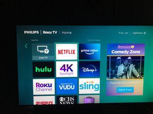 55 inch Phillips tv for Sale in Riverdale, GA
