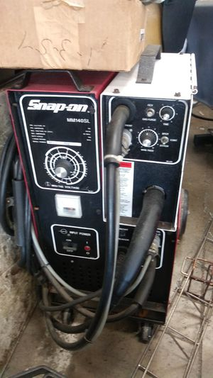 Snap On Mig Welder with Flex Tig Adaptor for Sale in Orlando, FL