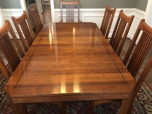 Stickley 21st Century Dining Room Set for Sale in Manakin-Sabot, VA