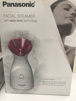 Panasonic facial steamer with nano ionic $50 for Sale in Bellevue, WA