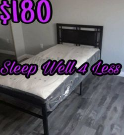 New Twin Bed for Sale in Lynwood,  CA