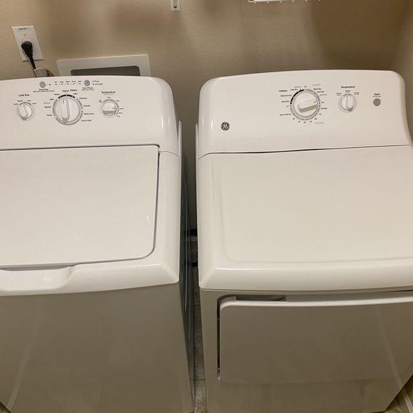 GE Washer & Dryer Set