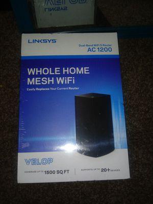 Linskys ac 1200 wifi router for Sale in West Jordan, UT