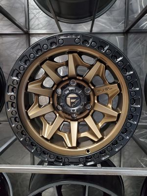 17x9 offset -12 fuel d696 covert bronze available in 5x127 and 6x139 for Toyota tacoma 4runner fj jeep wrangler 5x5 6x5.5 rim wheel tire shop for Sale in Tempe, AZ