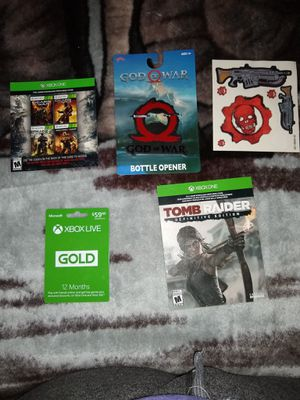 1 year Xbox live bundle for Sale for sale  Los Angeles, CA