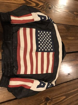 Kids Leather American Jacket (Small 4-6) for Sale in San Antonio, TX