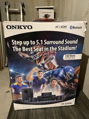 ONKYO HT-S3900 4K HDR Surround Sound for Sale in Smyrna, GA