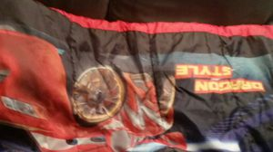 Cars lightening McQueen sleeping bag with tent for Sale in Gaithersburg, MD