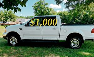 🔑📗🔑$1,OOO URGENT first owner 2OO2 Ford F-150 runs perfect it is fully loaded🔑📗🔑 for Sale in Richmond, VA