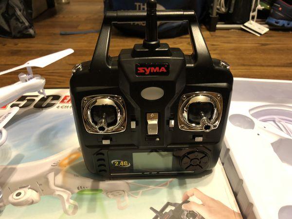 Syma X5c Explorers 2.4g 4ch Rc Quadcopter with Hd Camera 360 Eversion