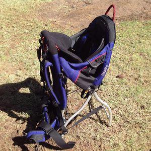 Kelty Ridgeline framed hiking baby backpack carrier w/broken leg STILL WORKS FOR CARRYING for Sale in Tempe, AZ