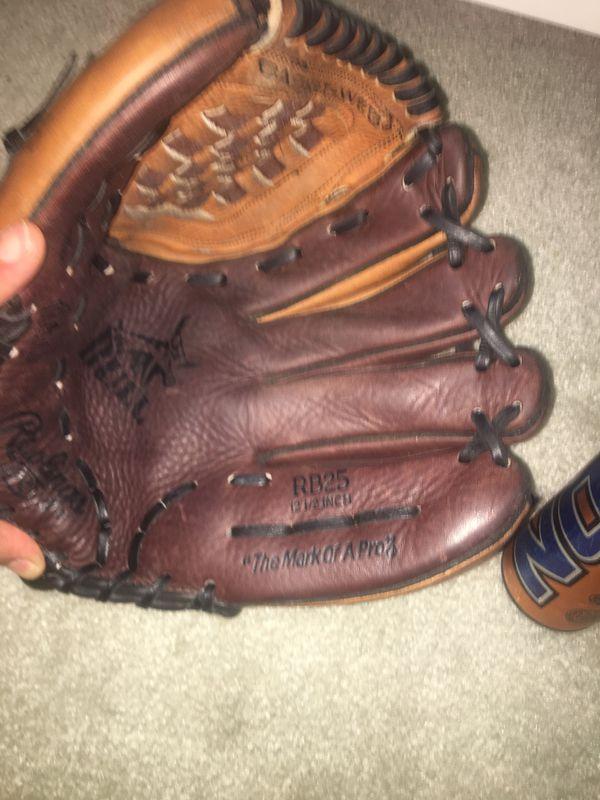 Baseball glove and fast pitch