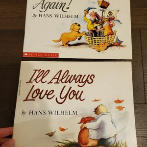 Kids Books- Two Touching Paperback Picture Books By Hans Wilhelm for Sale in Vancouver, WA