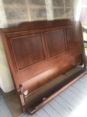 King size bed frame for Sale in Vass, NC
