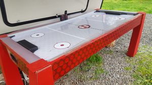 Harvard arcade style air hockey table and accessories for Sale in Tulalip, WA