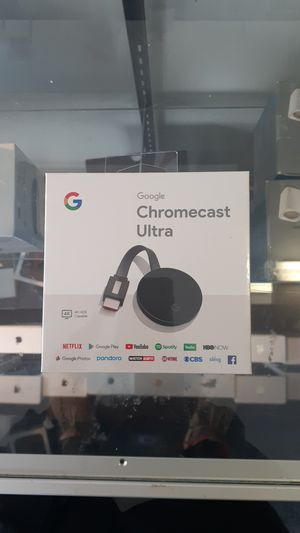 Google chromecast ultra for Sale in Cleveland, OH