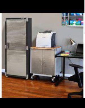 Ultra HD Tall storage cabinet for Sale in San Bernardino, CA