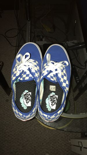 Blue Checkered Vans for Sale in Winston-Salem, NC