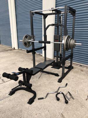 Weider home gym Weight set for Sale in Oviedo, FL